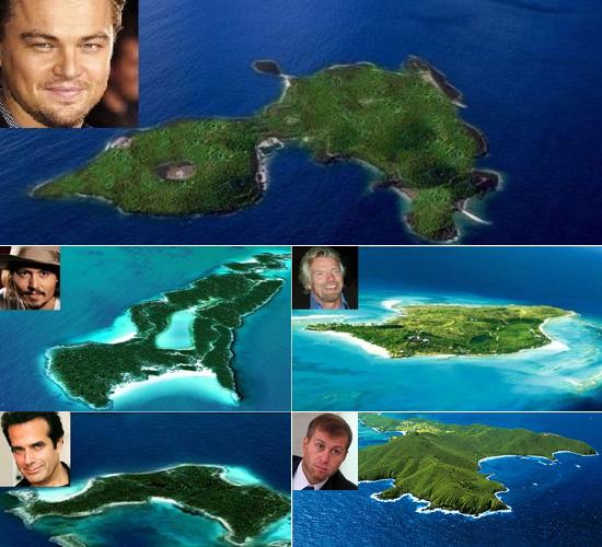 Ostrva Bogatih  Uredite Dom