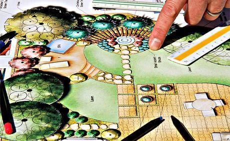 Planiranje vrta, sadnja travnjaka  Uredite Dom