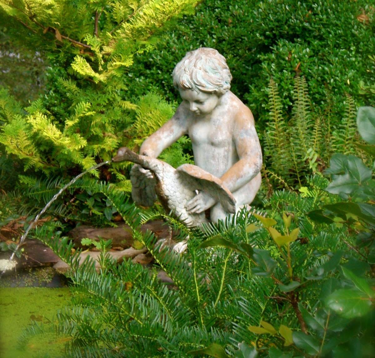 Ideje za fontane u dvorištu  Uredite Dom