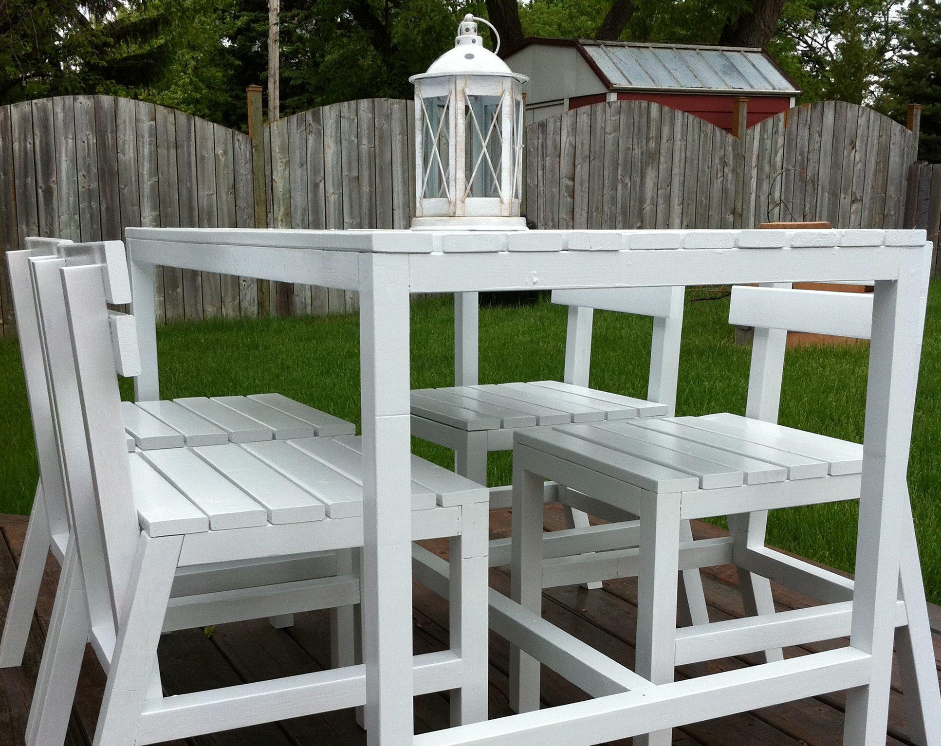 Napravite stolicu za vrtnu garnituru  Uredite Dom