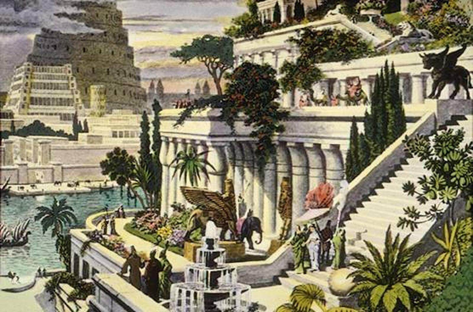 Viseći vrtovi Vavilona nikad nisu bili u Vavilonu!  Uredite Dom