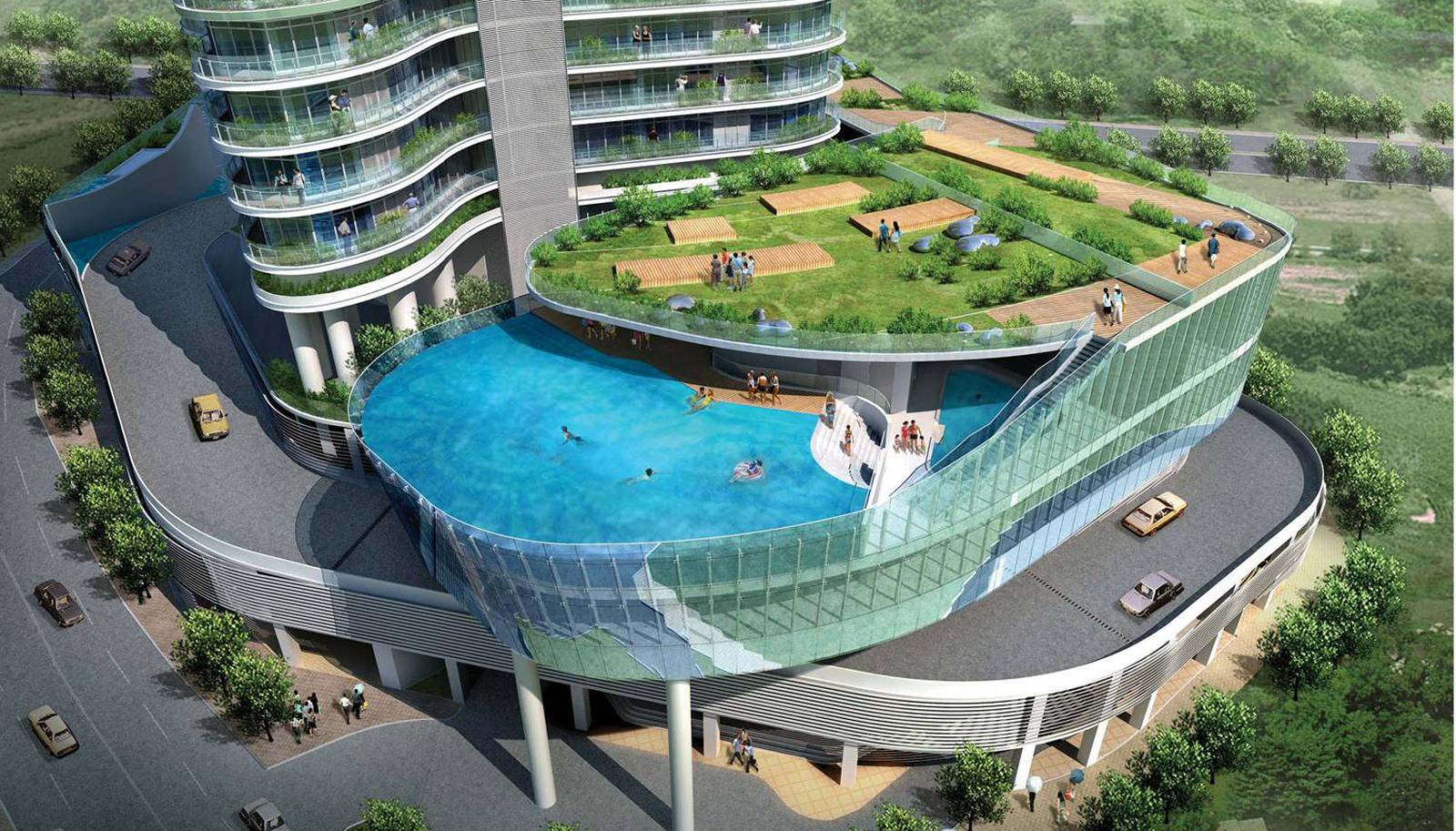 Najinteresantniji balkoni na svijetu  Uredite Dom