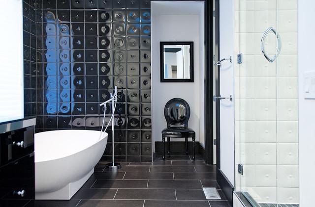 Crno-bijela kupatila  Uredite Dom