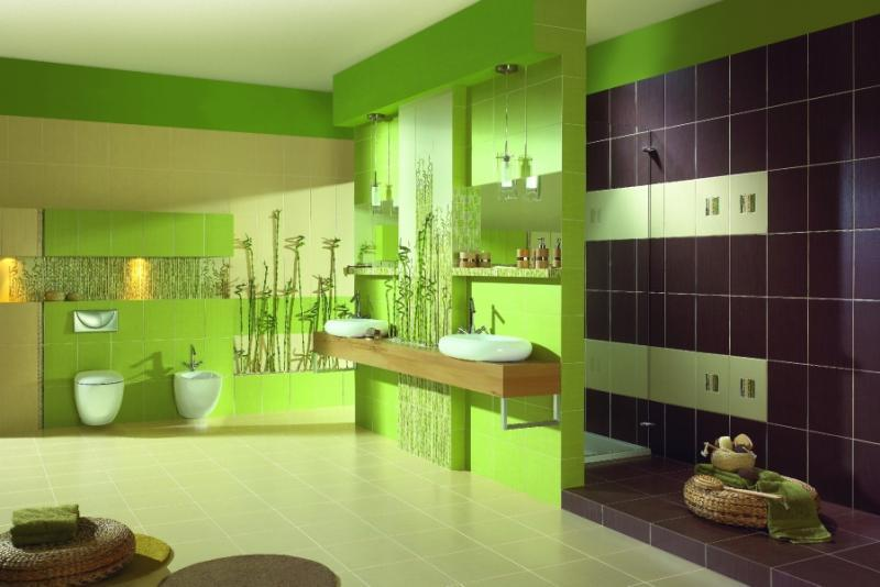 Zelena kupatila – slike  Uredite Dom
