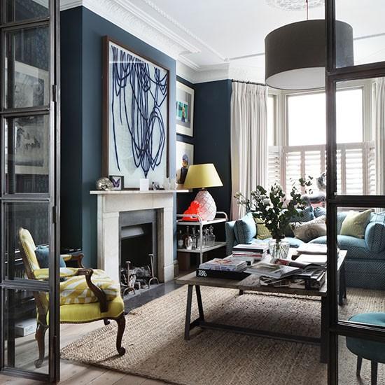 Stan U Plavoj Boji Slike  Uredite Dom