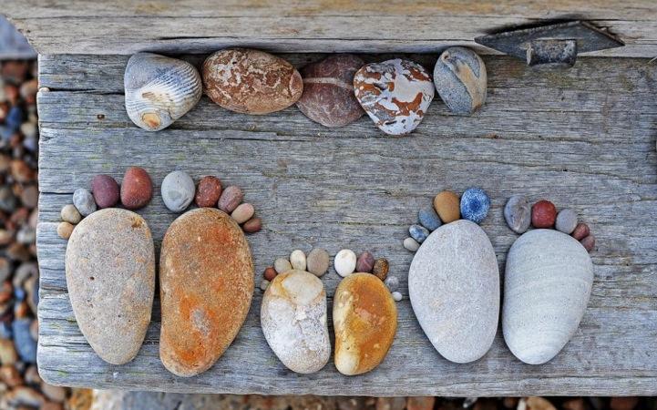 Uradi sam: Kamene stopice  Uredite Dom
