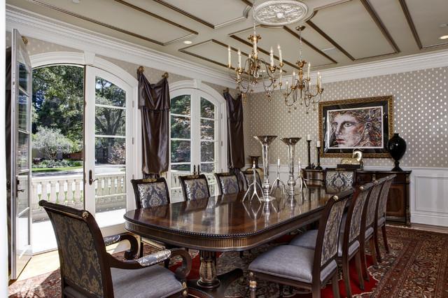 Glamurozni trpezarijski nameštaj u viktorijanskom stilu  Uredite Dom