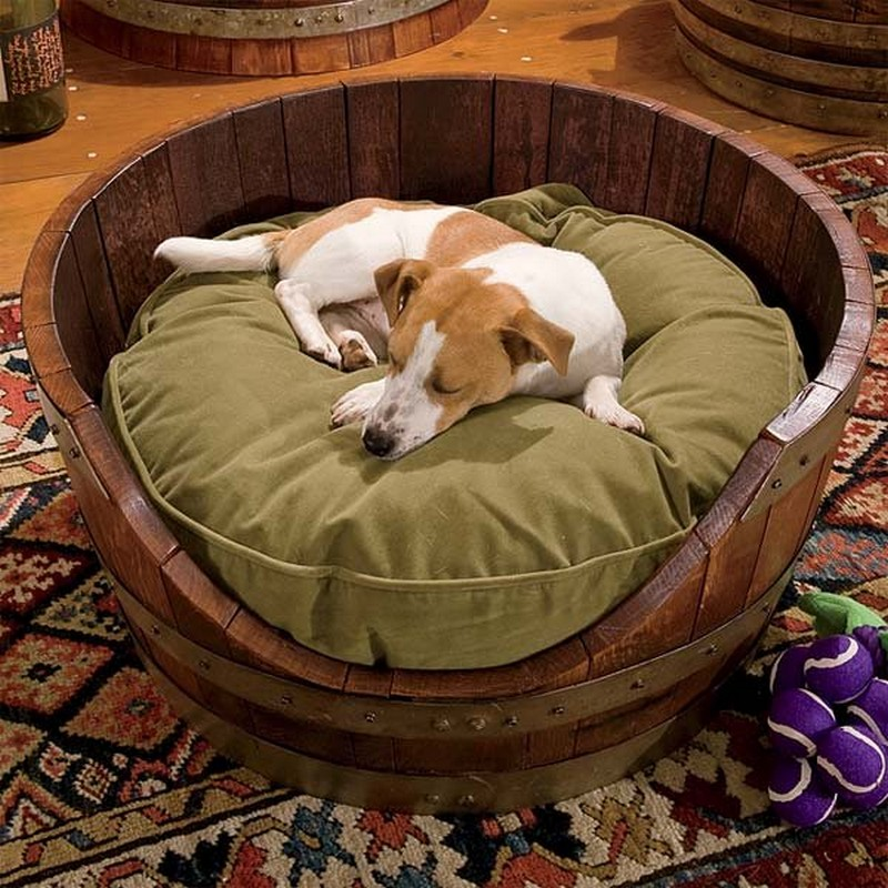 krevet-za-psa-napravljen-od-dna-bureta » Nekretnine Bl