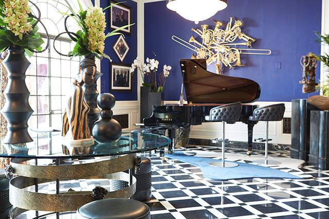 Muzička soba inspirisana Stivie Wonderom  Uredite Dom