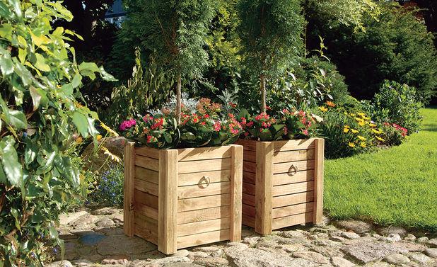 Napravite drvene sanduke za sadnju cvijeća  Uredite Dom