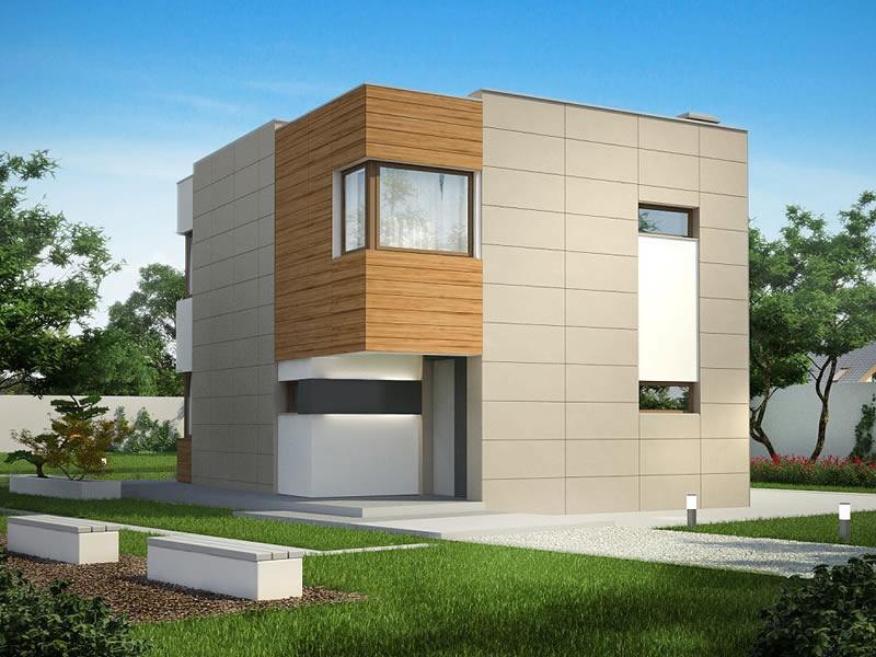 Pasivna kuća UltraM 102m2  Uredite Dom