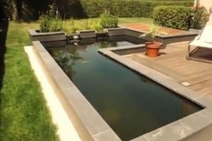 Vodena pumpa i osvjetljenje jezera u vrtu  Uredite Dom