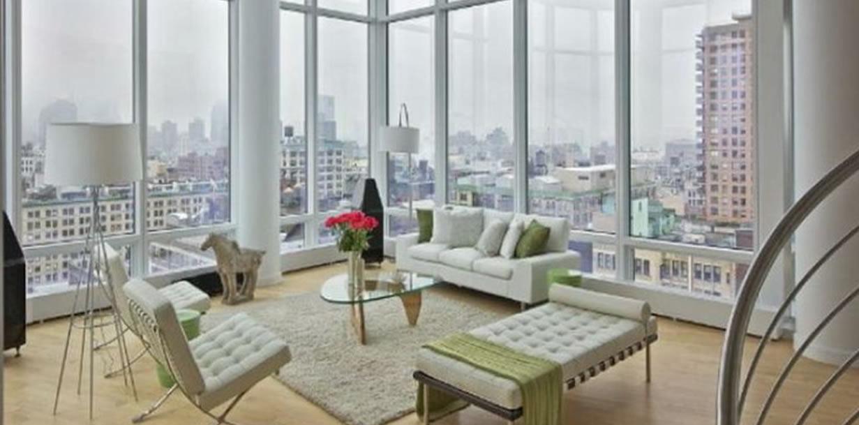10 Dnevnih soba sa staklenim stijenama  Uredite Dom