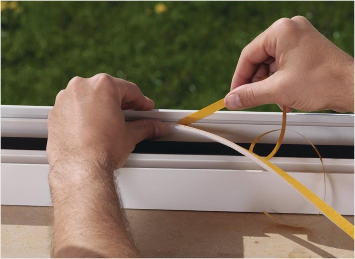 Kako gitovati i zabrtviti prozore  Uredite Dom
