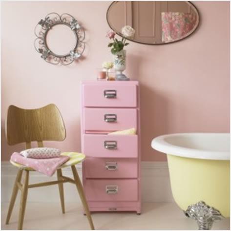 roze kupaonica