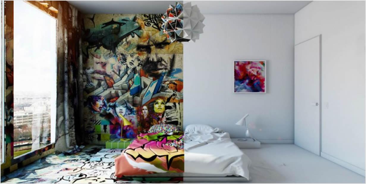 Jedna spavaća soba, dva stila i nula fotošopa  Uredite Dom