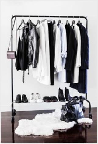10 jeftinih rješenja za stalak za odjeću  Uredite Dom