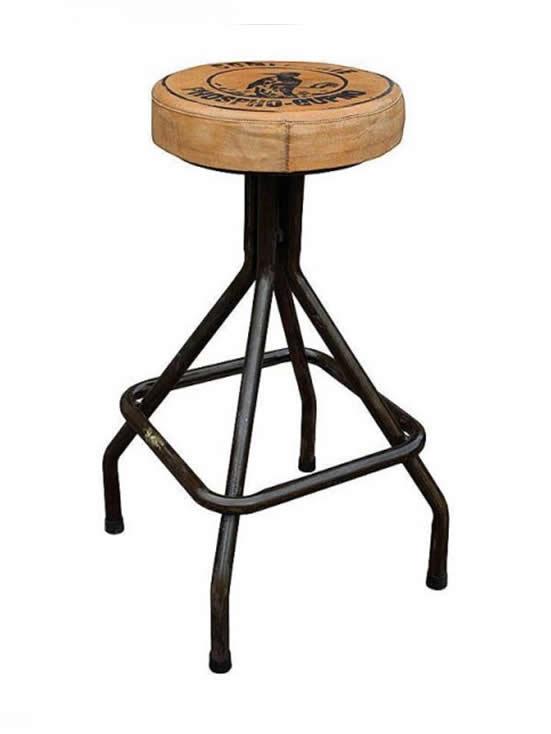 Neodoljive barske stolice u industrijskom stilu  Uredite Dom