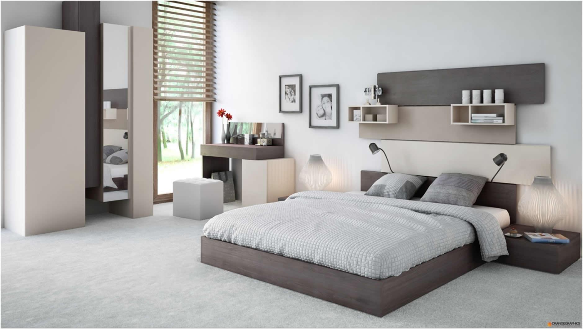 Moderne dizajn ideje za spavaće sobe svih veličina  Uredite Dom