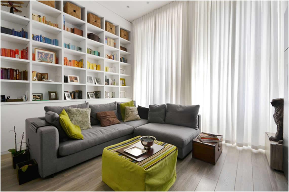 Moderno rješenje za stan od 69 kvadrata  Uredite Dom