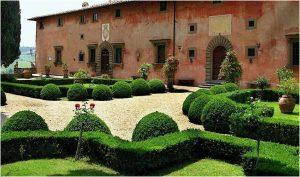 uredjenje dvorista toscana